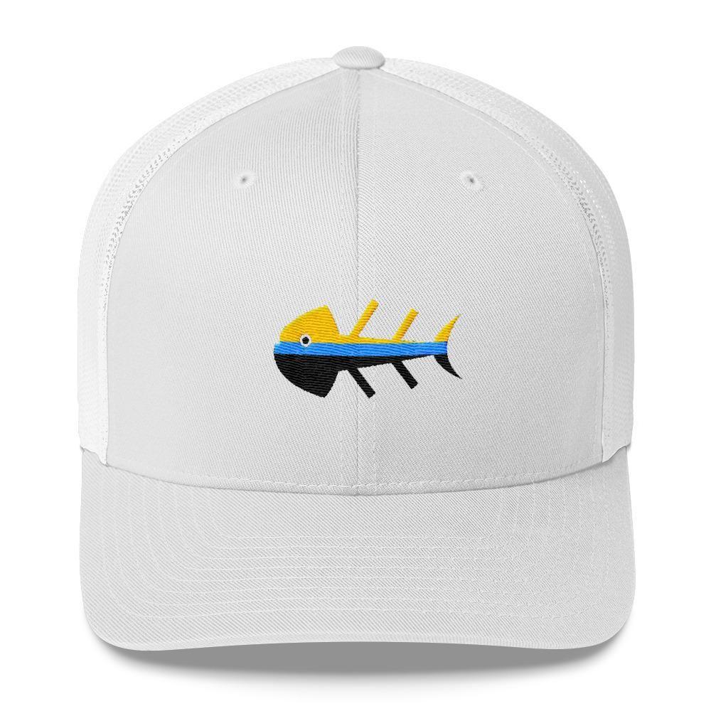 Fish Dinner Trucker Cap