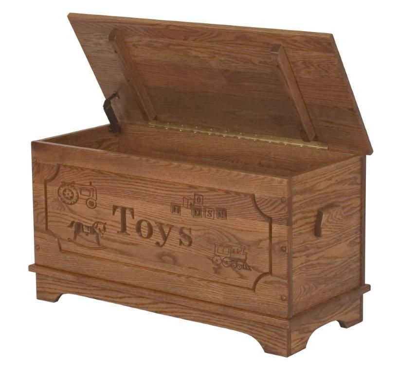 Amish Made Hardwood Child S Toy Box Wooden Toy Chest Wooden Toy Boxes Wood Toy Box