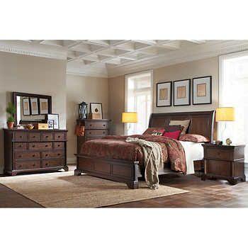 Brownstone 6 Piece King Bedroom Set Bedroom Set King Bedroom Sets King Bedroom