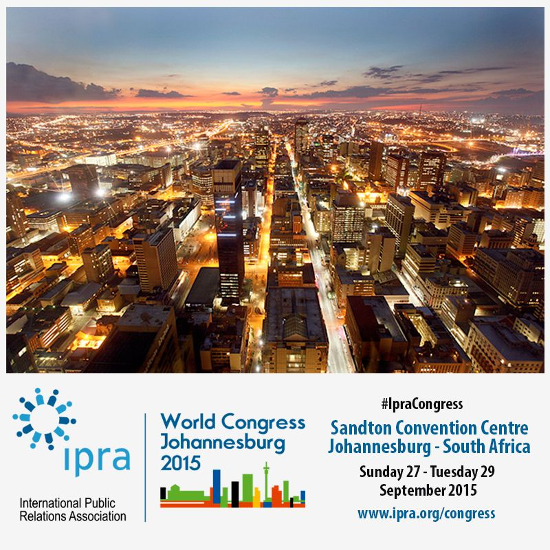 Pin by IPRA on IPRA World Congress 2015 | Pinterest