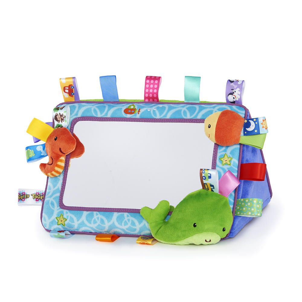 Taggies Tag and Smile Mirror - Kids II - Toys \