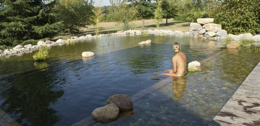 Se baigner dans sa piscine naturelle une autre fa on de for Bassin naturel piscine