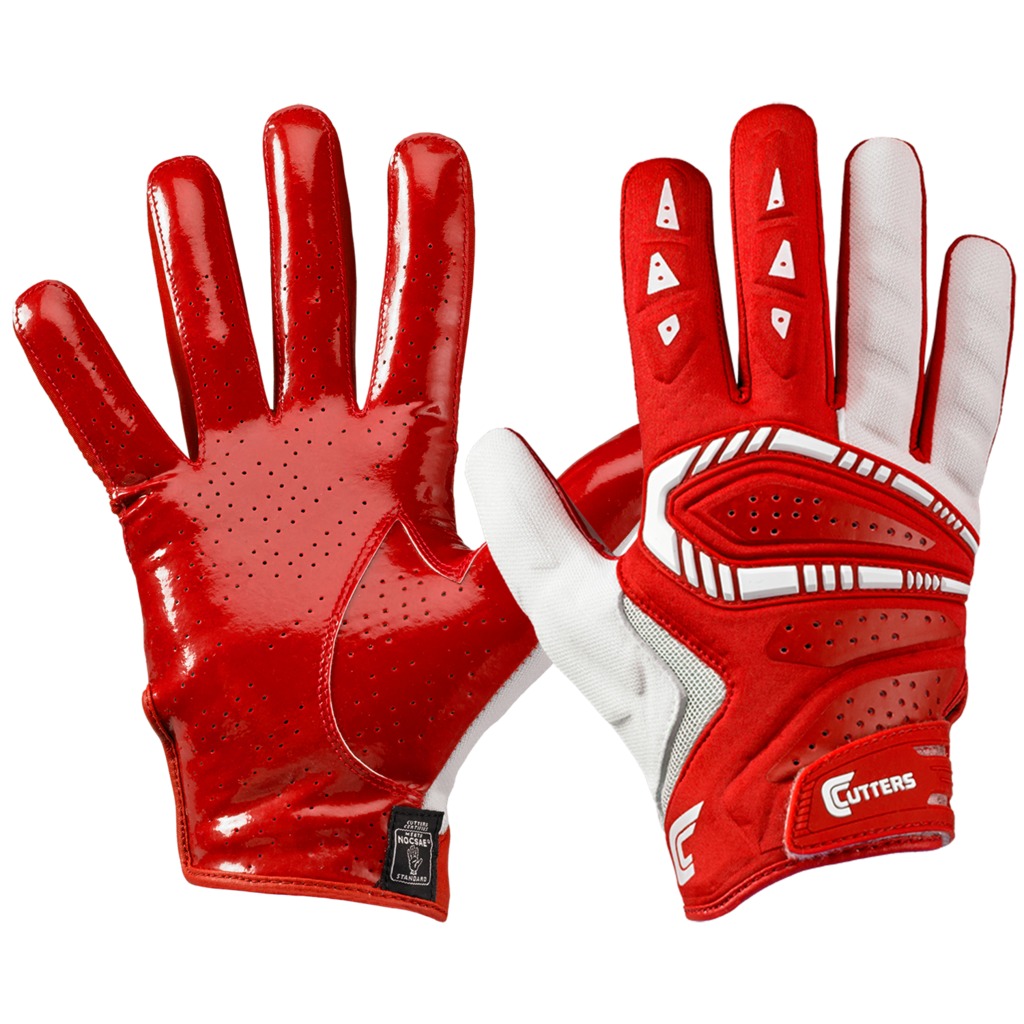Nike Lineman Gloves Xl: Cutters Adult Gamer All Purpose Football Gloves