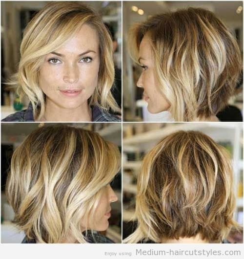 Marvelous Medium Hairstyles New Haircuts And Medium Haircuts On Pinterest Hairstyles For Men Maxibearus