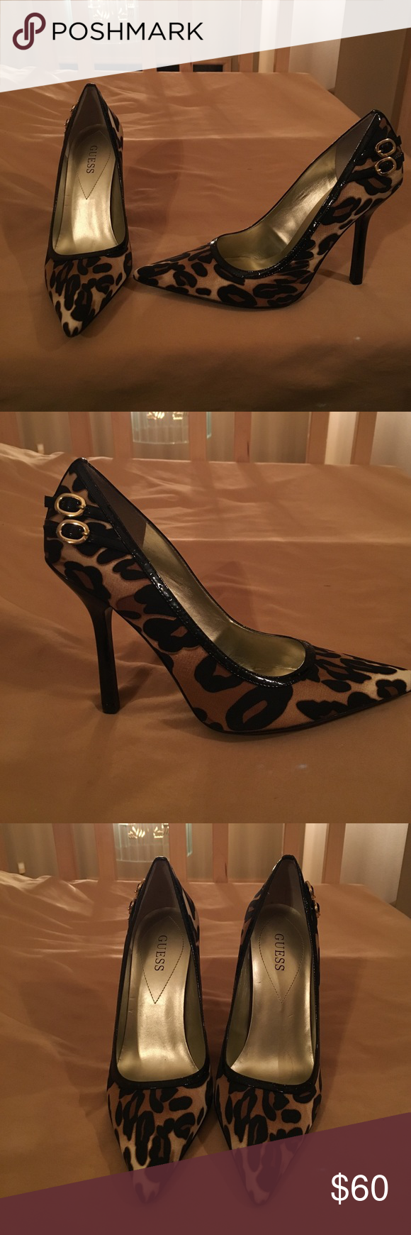 BRAND NEW Guess Lucita leopard pumps in size 9 NWT