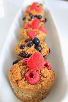 Fit & Clean: Bananen Oat Muffins - auch gut zum Einfrieren