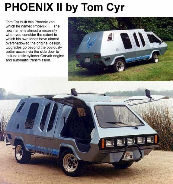 The Phoenix Ii Built On A Vw Chassis Camping Kayaking