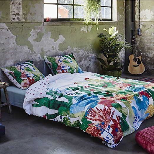 Covers Co Biancheria Da Letto Cactus Multicolore In Cotone