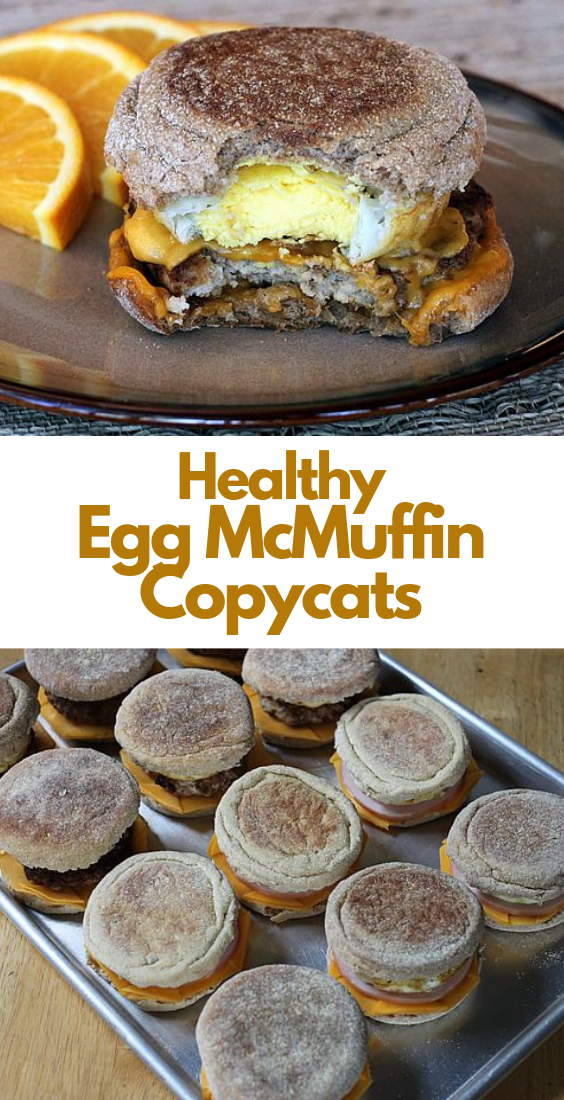 Healthy Egg McMuffin Copycats images