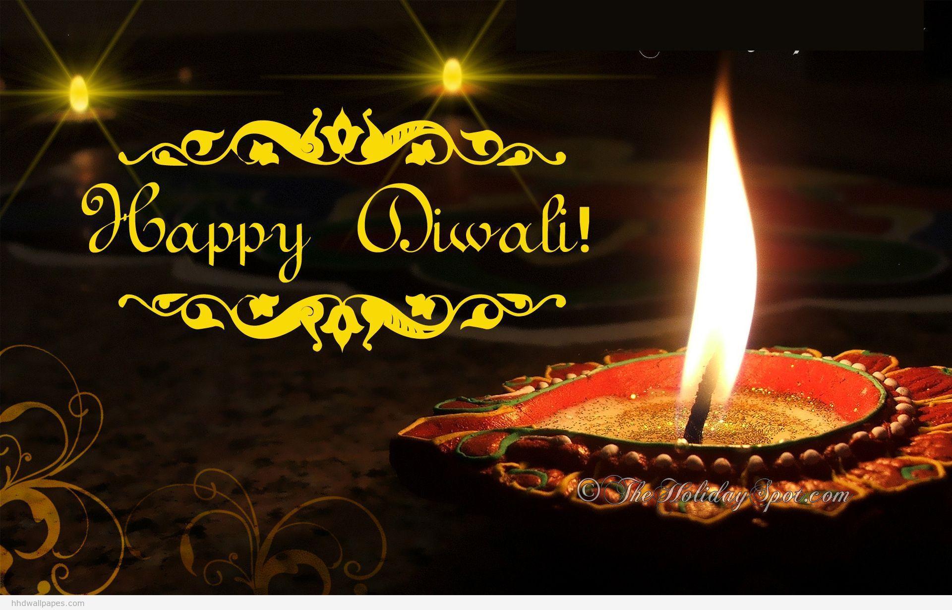Happy Diwali Hd Wallpaper 3d