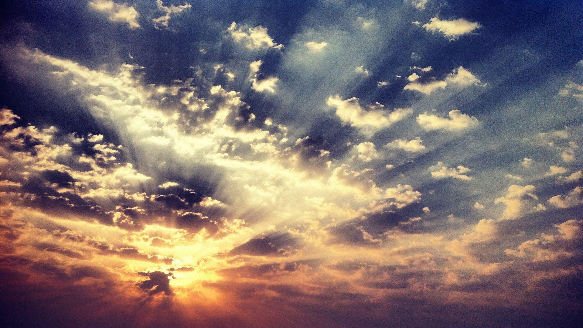Sky Wallpapers Images Desktop Morning Sky Clouds Background