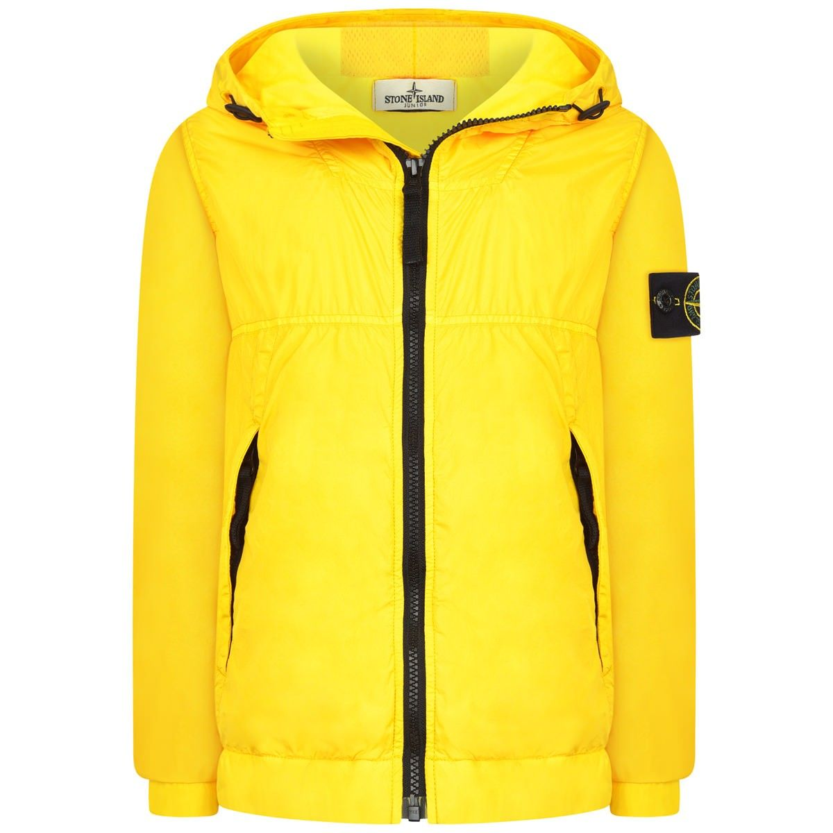 210ad8902 Stone Island Boys Yellow Waterproof Jacket