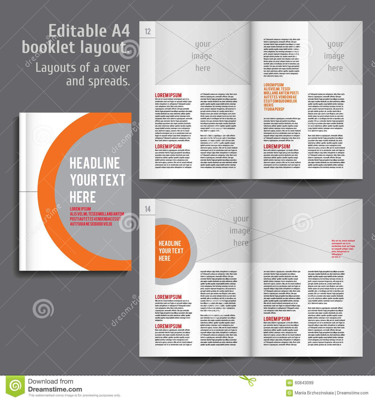 booklet-layout-design-template-cover-spreads-contents-preview ...