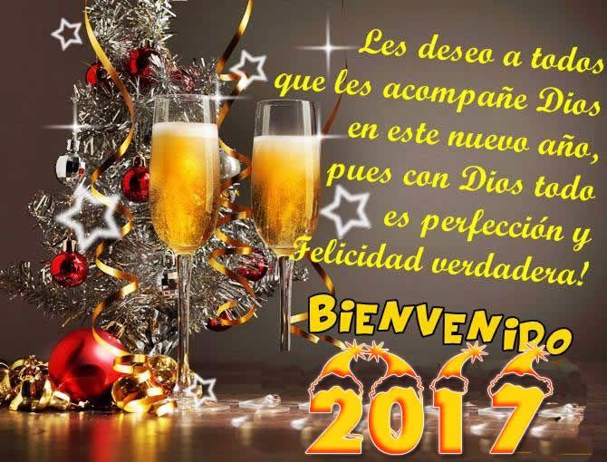 tarjetas con frases de año nuevo 2017 | FRACES FUERTES | Pinterest ...
