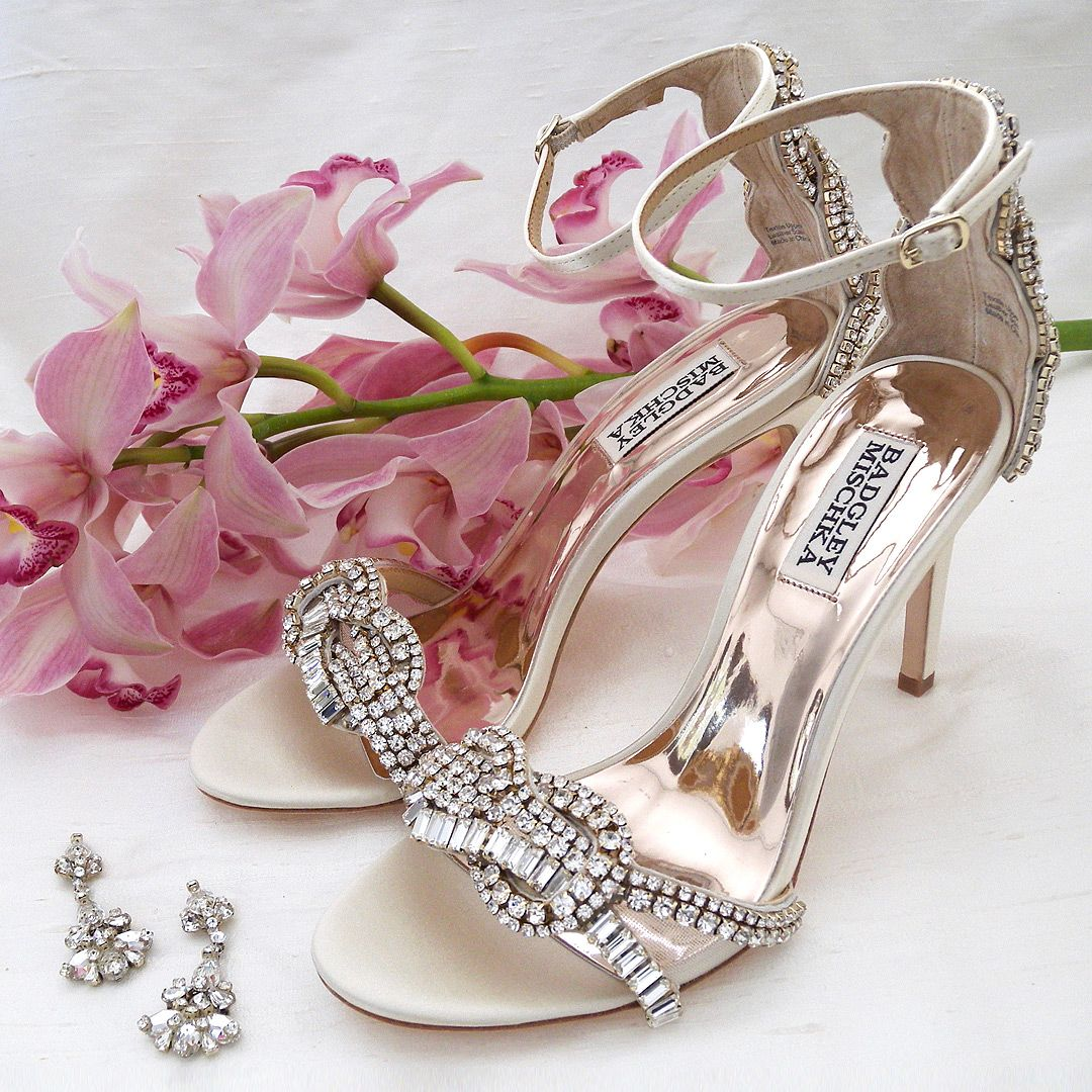 Designer Wedding Shoes Walk Down The Aisle In Style Designer Wedding Shoes Badgley Mischka Bella Belle In 2020 Designer Wedding Shoes Badgley Mischka Shoes Wedding Wedding Shoes