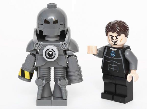 How to build a LEGO Iron Man MarkI ? - http://www.brickheroes.com ...