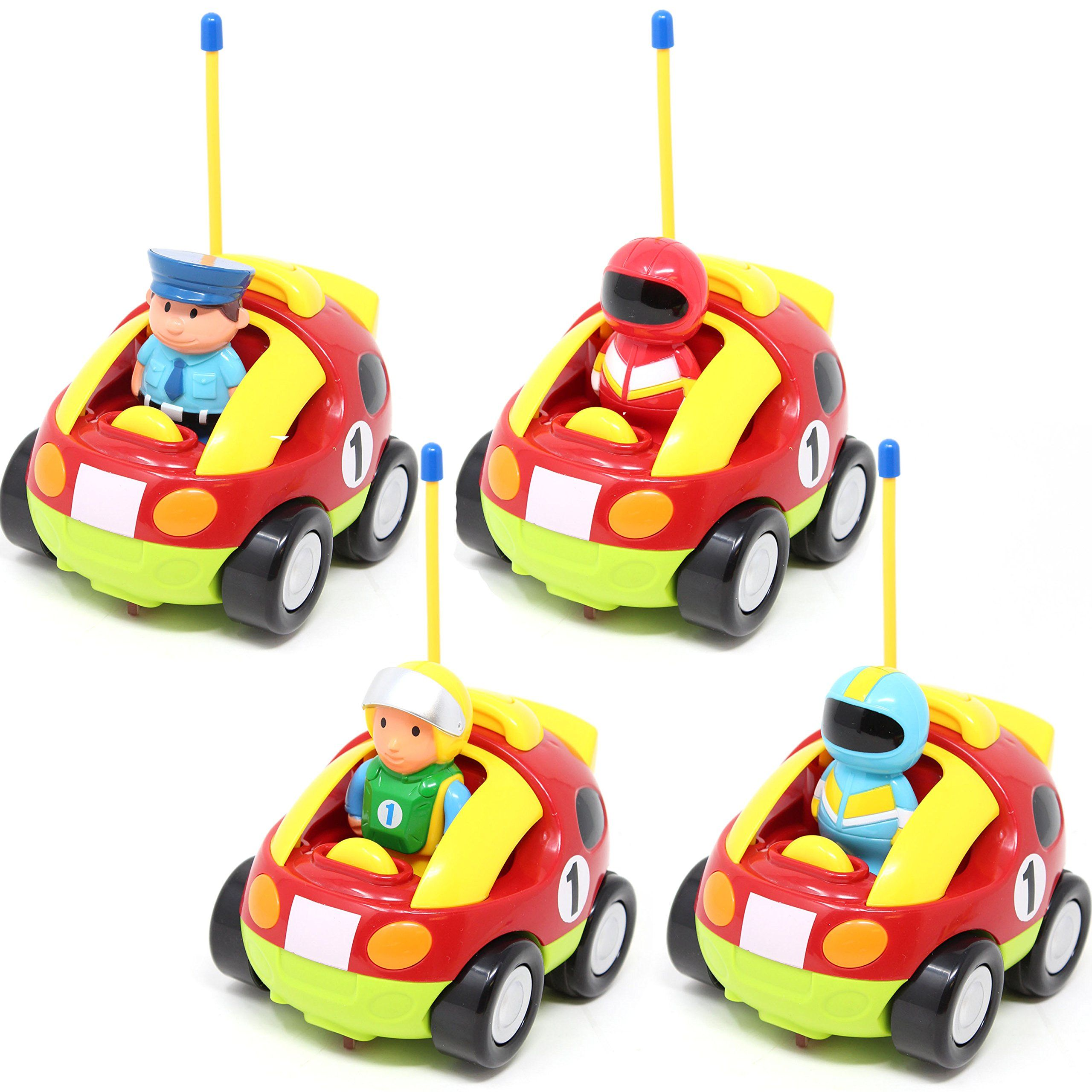 Cartoon Rc Race Car Radio Remote Control With Music Hashtag1 Toddler Car Toy Car Kids Electronics