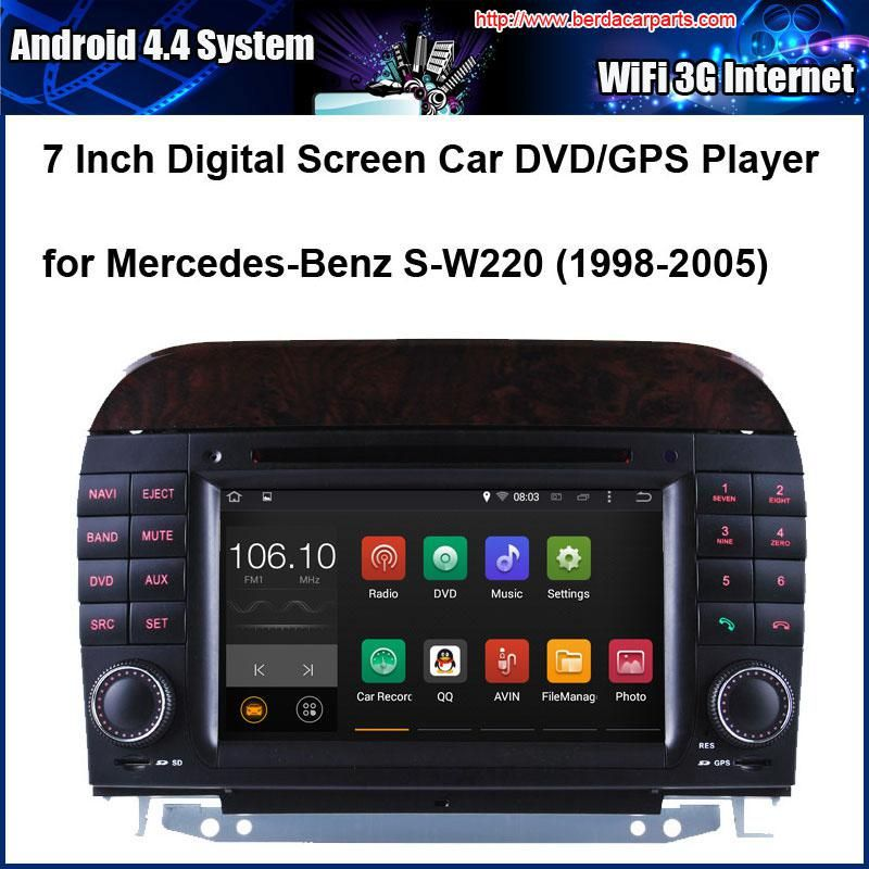 Android Car Dvd Player For Mercedes Benz S W220 Sl R300 With Radio