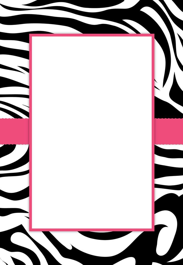 Zebra Print Clip Art Free - Cliparts.co | Pure Romance Birthday ...
