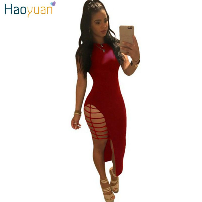 Aliexpress.com : Buy HAOYUAN 2017 Summer Sexy Dress Club Wear Women Black Red Party Dresses Plus Size Self Portrait Bodycon Bandage Dress Vestidos from Reliable dresses dress up suppliers on HAOYUAN Dres Store