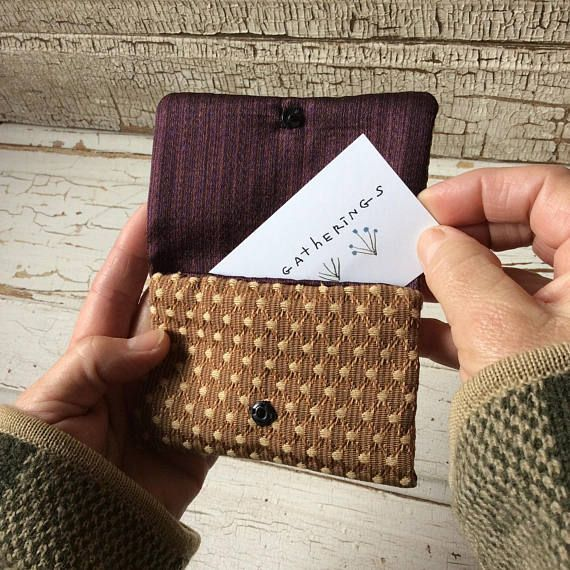 Gift Card Holdersmall Walletbusiness Card Holdertiny In 2020 Gift Card Gift Card Holder Small Wallet