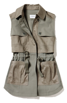 Club Monaco Tila Sleeveless Jacket.    NEED