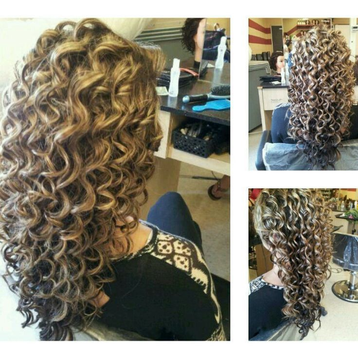 45 Charming Bride S Wedding Hairstyles For Naturally Curly: Image Result For Beach Wave Perm Technique Wrapping In