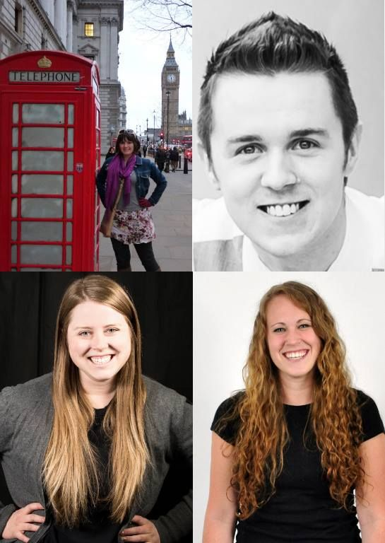 Introducing our Summer Intern Team (clockwise in photo): Alecia, project manager intern; Braden, technology intern, NDSU; Katie, design intern, U of M; and Meredith, creative writing/social media intern, MSUM. This summer they will be working on several promotional materials for West Fargo STEM. We can't wait to have you all in the Dog Park!