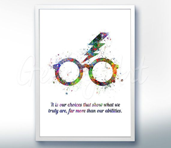 Harry Potter Glasses Quote For 2nd Grade Basket With Images