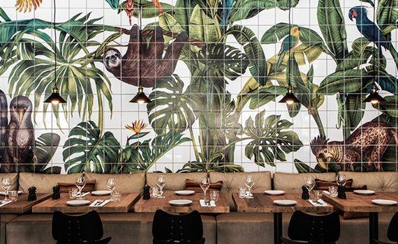 Restaurants met een tropisch interieur - Residence | ชมนาถ ขนมไทย ...