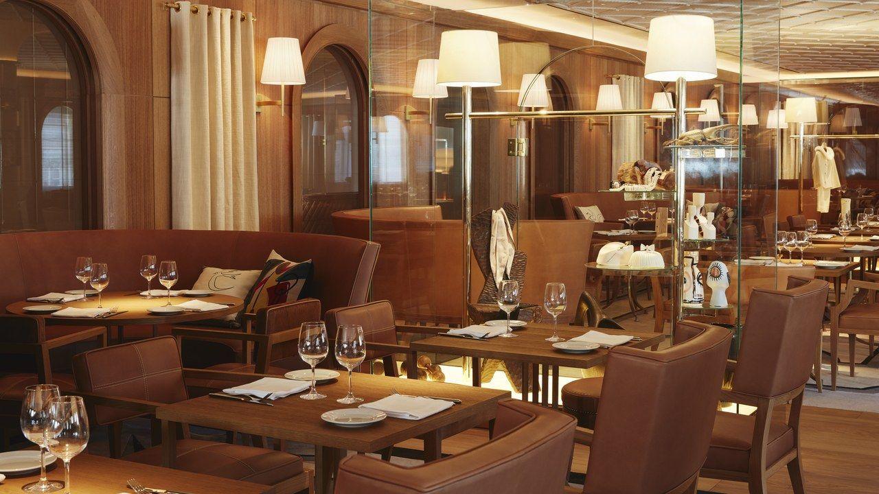 Philippe Starck Designed L Avenue Restaurant Opens At Saks