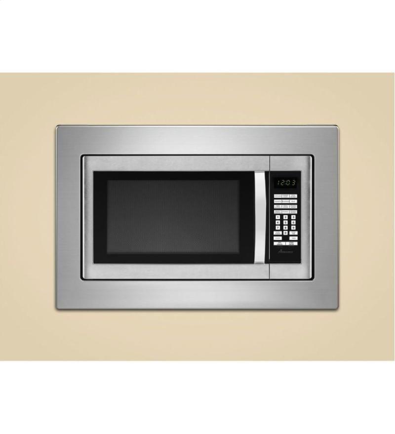 Microwave Trim Kit Stainless Steel Countertops Major Kitchen