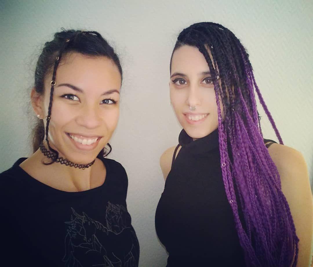 Más Creaciones!!!😍 Trenzas Boxbraids Peinadoscontrenzas