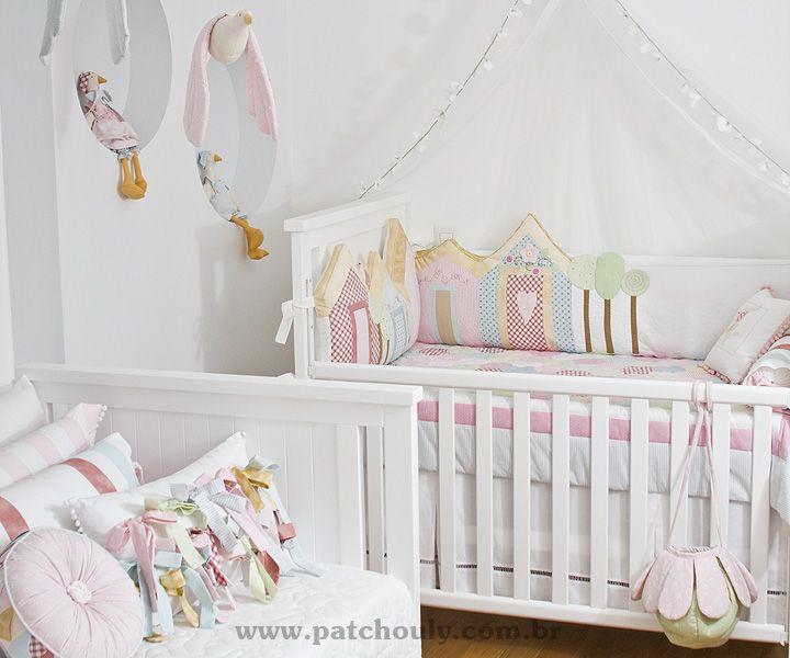 Quartos › Quarto Casinhas - Patchouly Enxoval para bebê e Decoração de Quarto para bebe