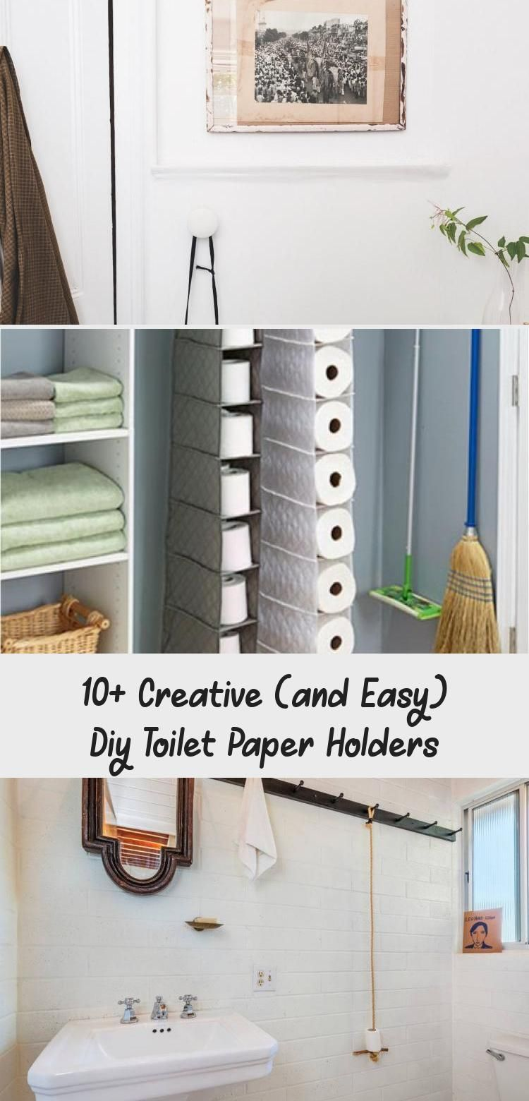 Photo of 10+ Creative (and Easy) Diy Toilet Paper Holders – Home Design
