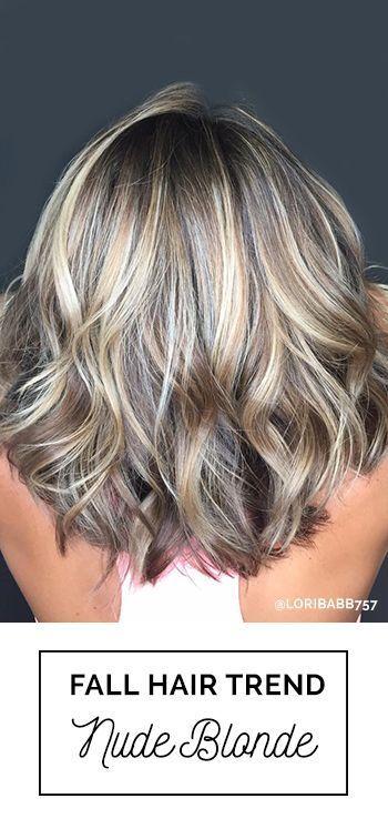 2016 Fallwinter Hair Color Trends Guide Fall Blonde Hair