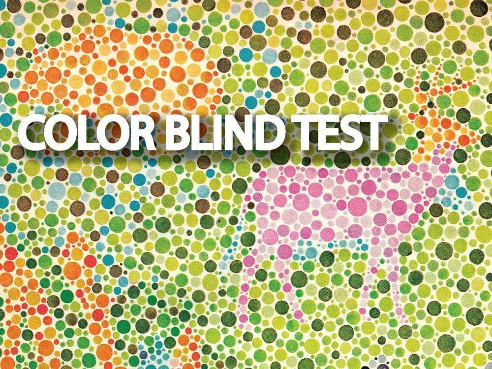 Ishiharas color blind test test for kids color blind