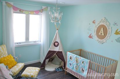 a diy teepee reading tent for a toddler room bedroom ideas diy reupholster & A DIY Teepee Reading Tent u0026 A Woodland Themed Toddler Room ...