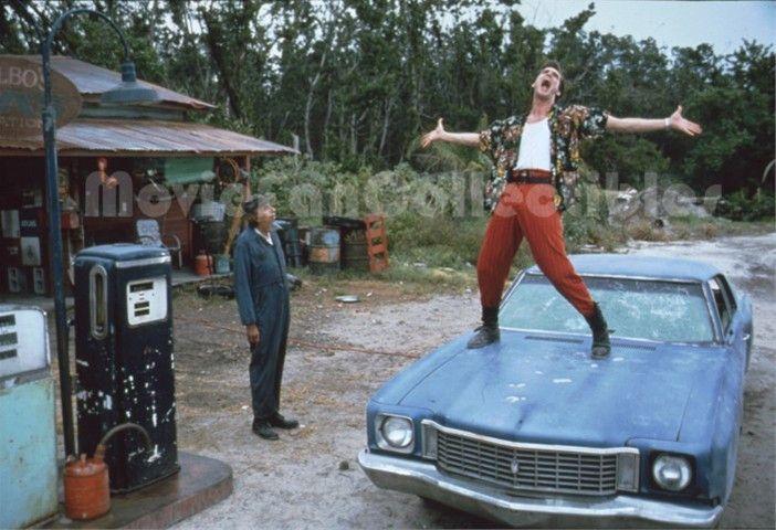 Jim Carrey in Ace Ventura: Pet Detective Original Publicity Slide