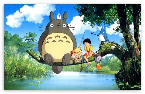 Ghibli My Neighbor Totoro Wallpaper