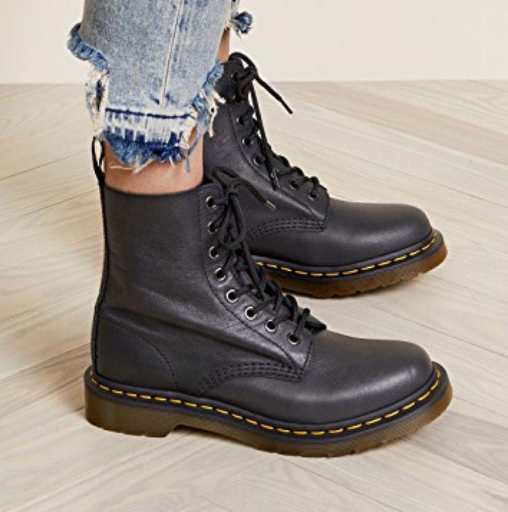 Dr. Martens Shoes | Dr Martens Serena Boot | Color: Black