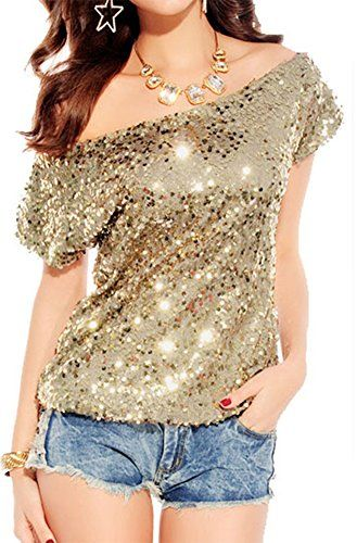 5dbcac6a5f1 Pin by JacLyn Jones on Tops in 2019   Clubwear tops, Sequin top, Sequins