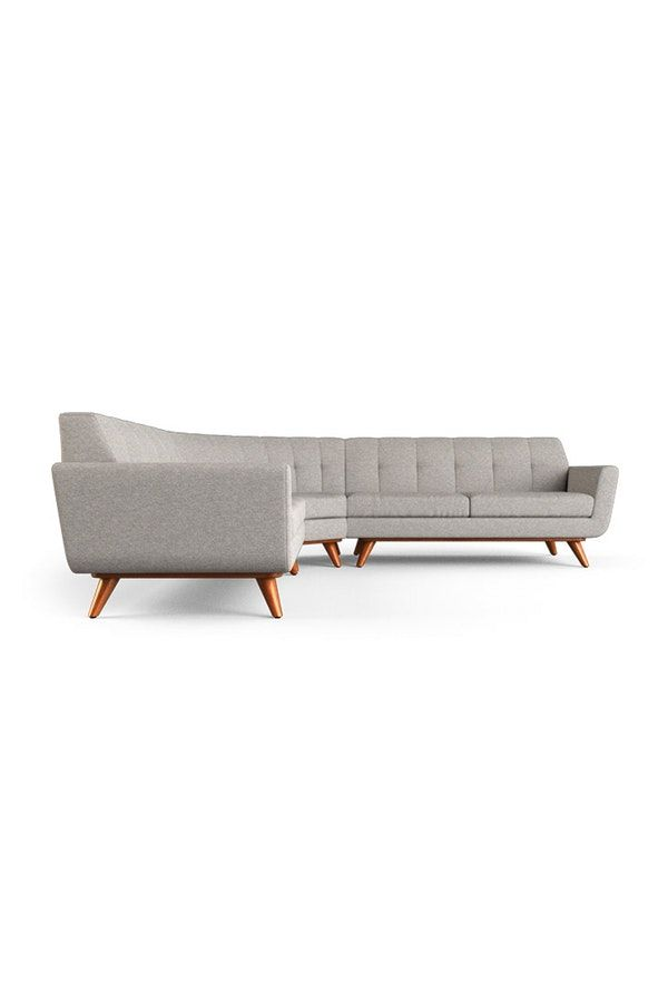 Hughes Round Corner Sectional 3 Piece Corner Sectional