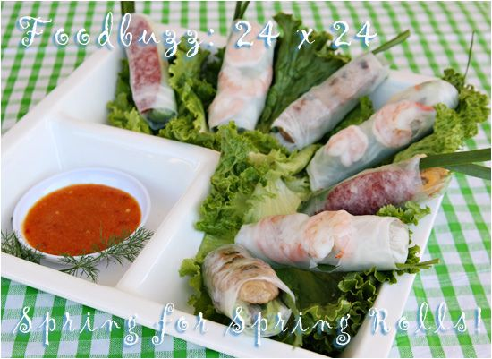 spring roll party