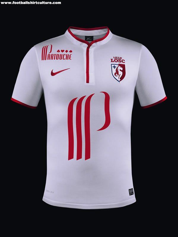LOSC Lille 13 14 Nike Football Shirts  9bdf01d8f1377