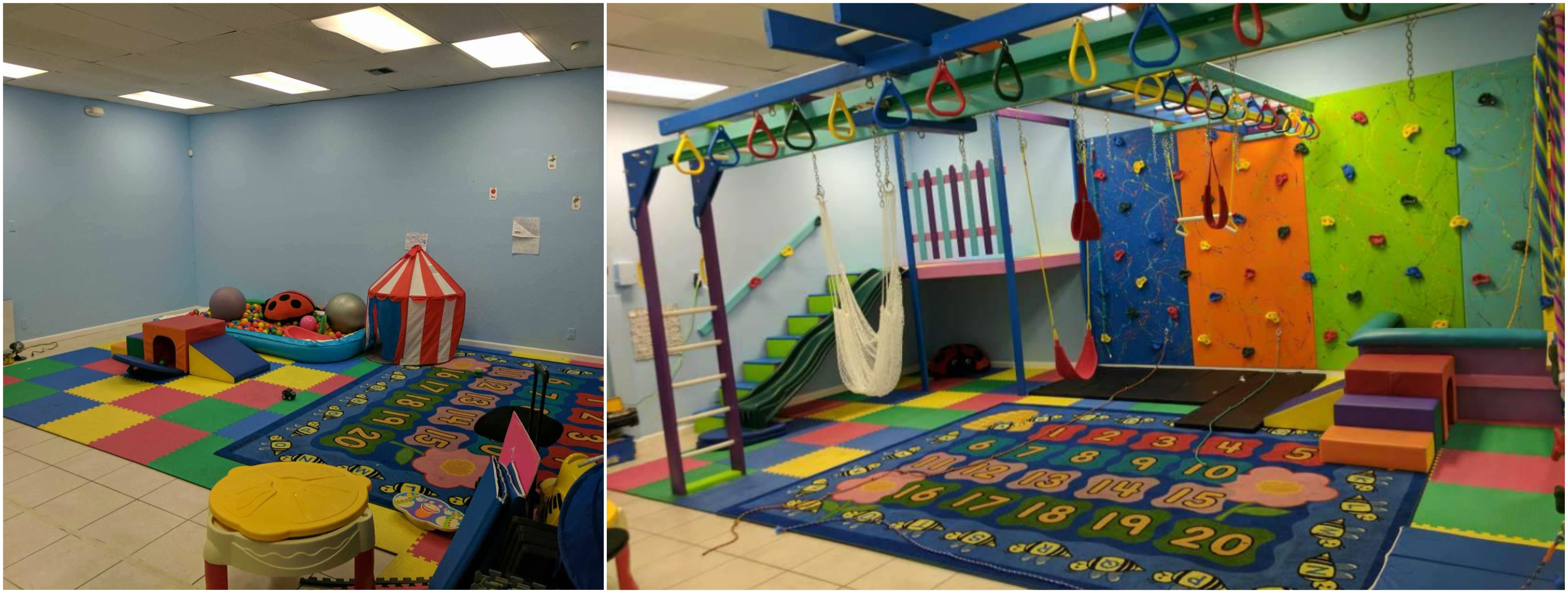 Before A Fun Factory Sensory Gym And After One Of Our Favorite Transformation Photos