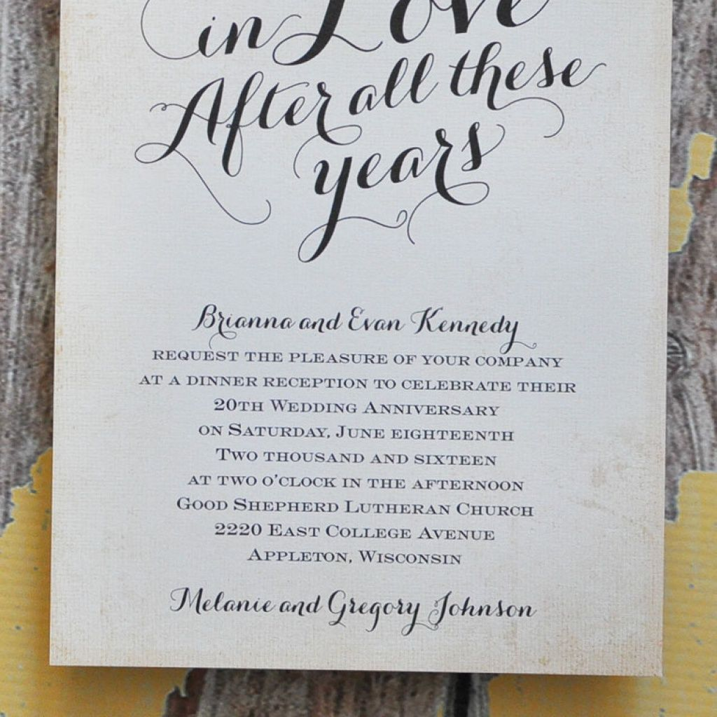 50th Wedding Anniversary Gift Etiquette: Finding The Right Wedding Anniversary Invitation Wording