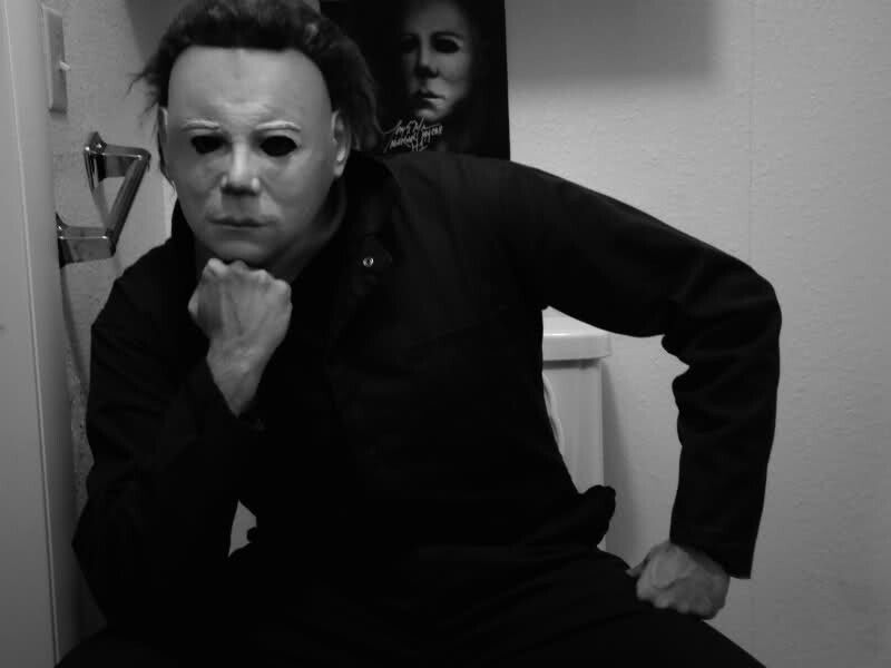 Michael Myers contemplates his notoriety...
