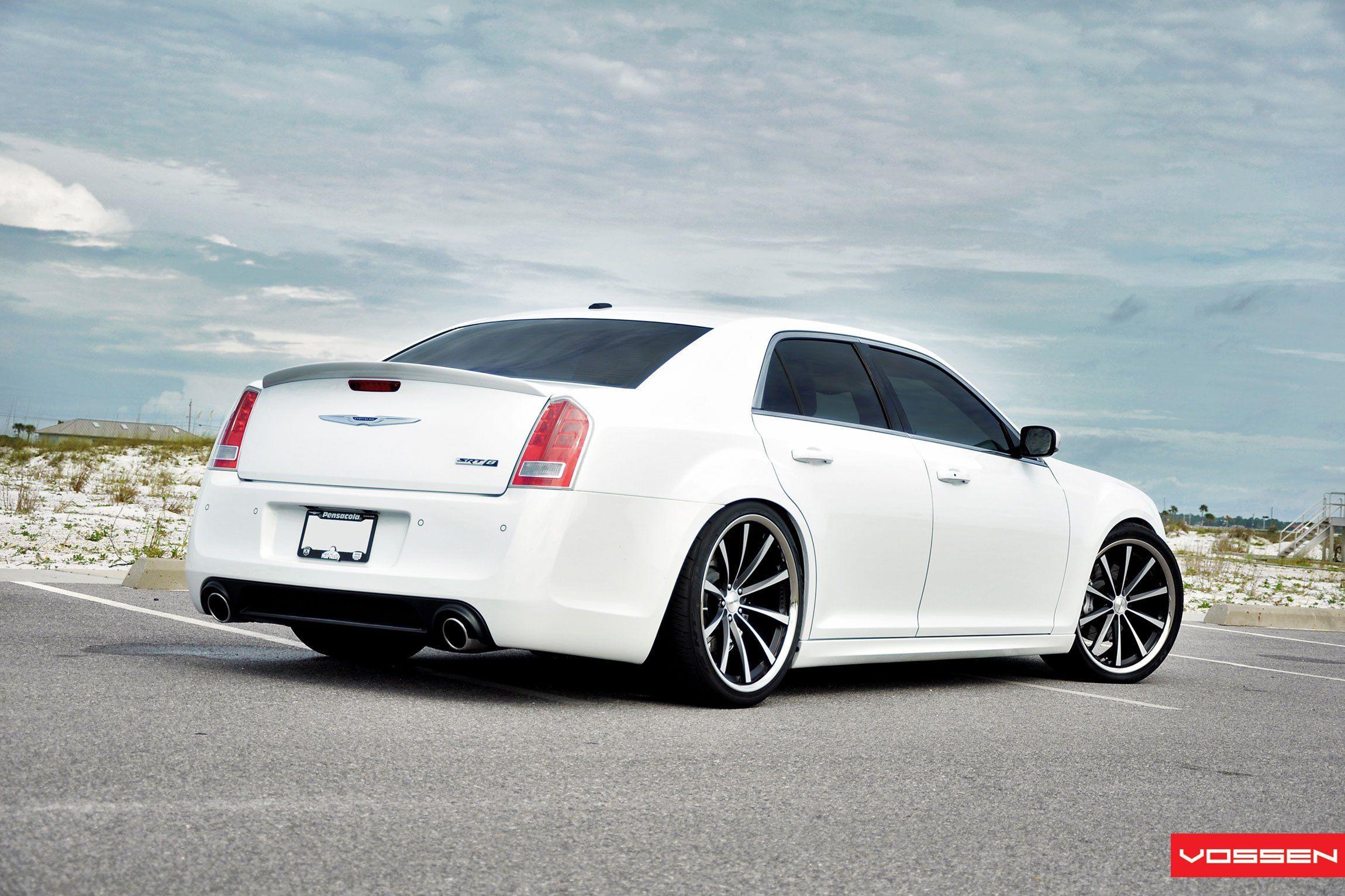 White Chrysler 300 Customized For Royal Look Chrysler 300 Srt8