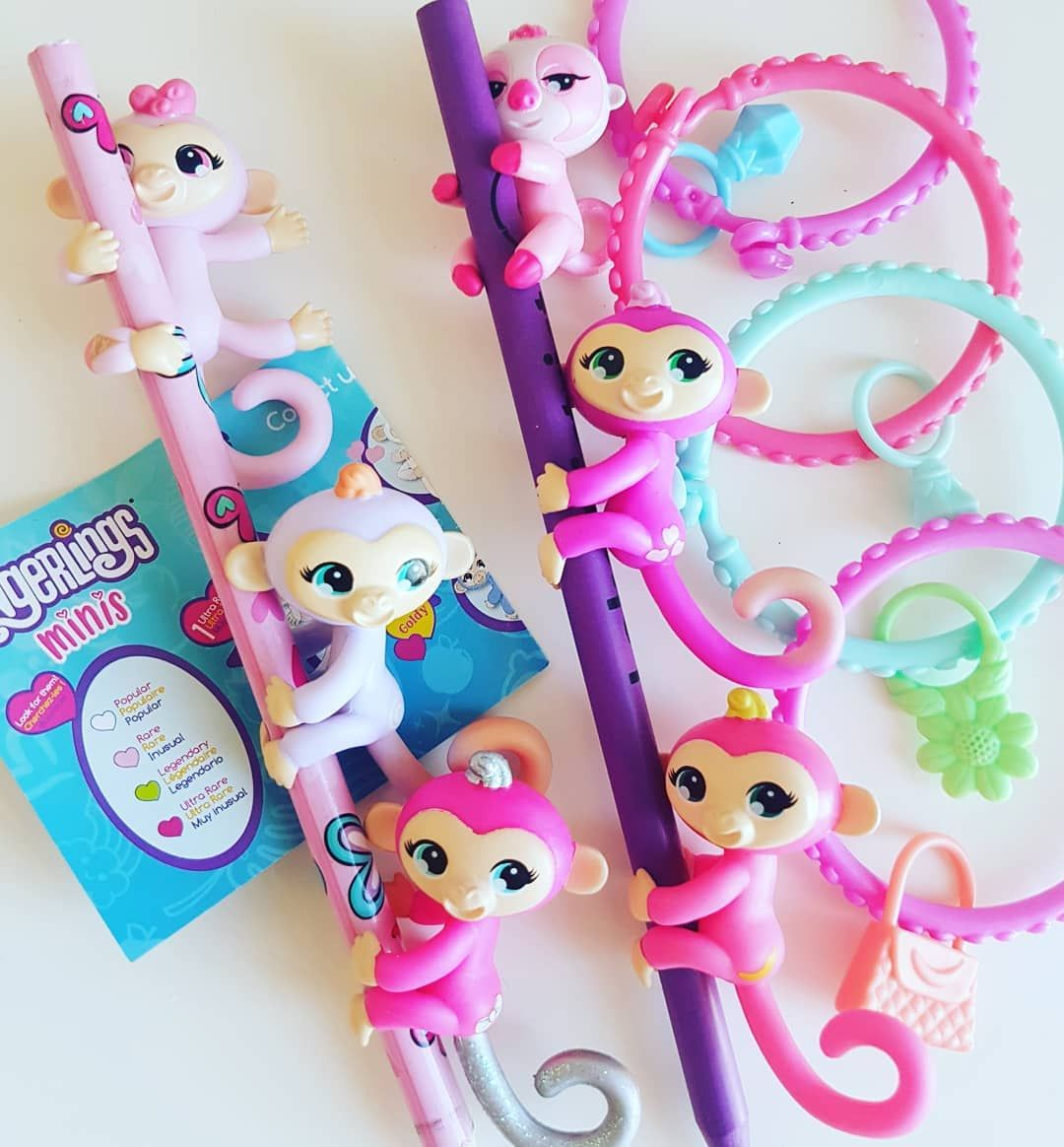 How adorable are Fingerlings Mini's? Who is your favourite